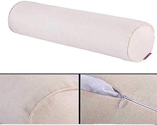 N\A Almohada Cervical Cuello del Dormitorio para el hogar Almohadas de Embarazo Inserto Largo Pasos Almohada Redondo Cilindro Corporal Cojín de cojín Sleep Confort Almohada