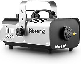 Beamz S900 Macchina del fumo effetto nebbia smoke maker fog machine (900 Watt, portata 4 metri, 70m ³ / min, telecomando)