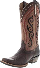Ariat Damen Cowboy Stiefel 25053 Cowtown Cuttre Westernreitstiefel Lederstiefel Braun