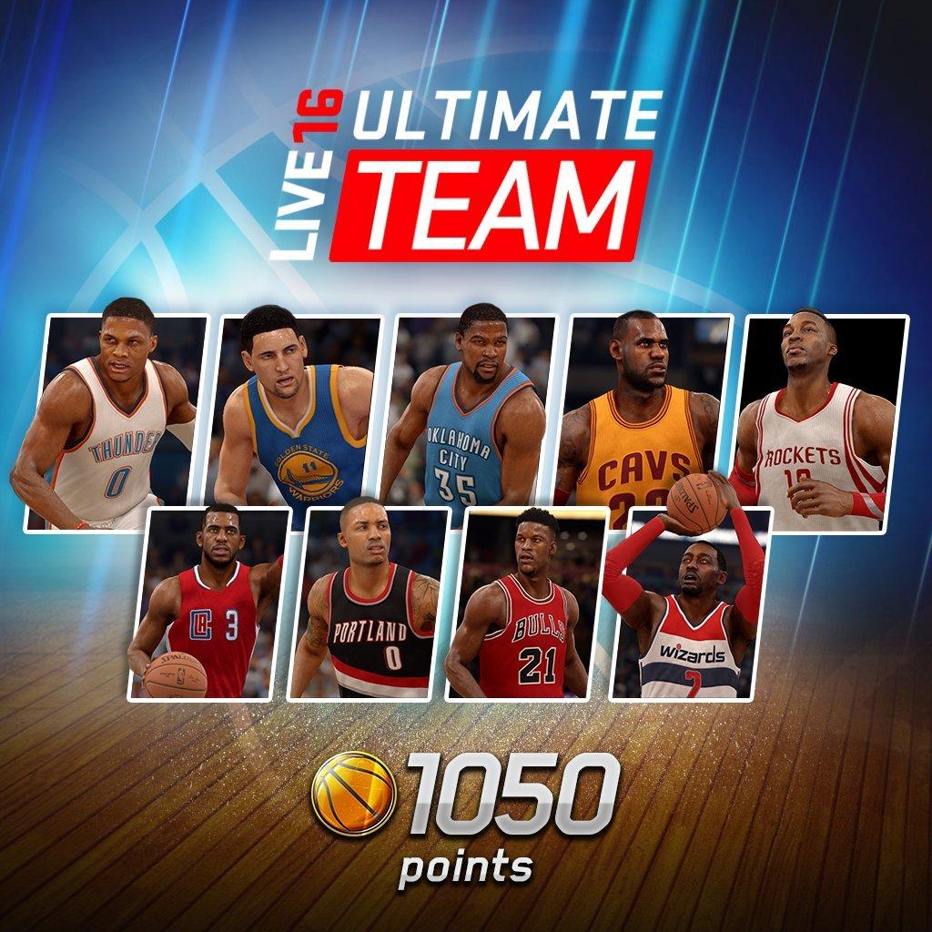 EA Sports NBA Live 16 Standard Edition: 1050 NBA Points - PS4 [D