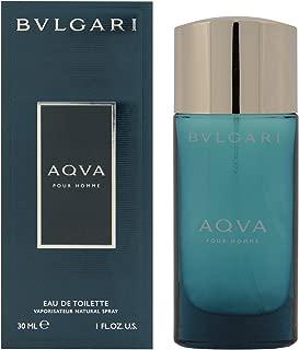 Aqva Pour Homme By Bvlgari For Men, Eau De Toilette Spray 1 oz