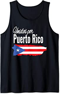 Puerto Rico Se Levanta T-shirt - Unidos Por Puerto Rico Tank Top