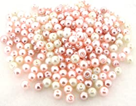UnCommon Artistry Glass Pearls Mixes (200pcs 6mm) Barely Pink