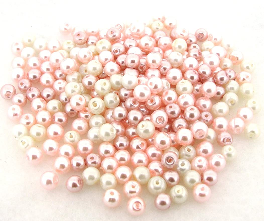 Beads Direct USA's Glass Pearls Mix 200pcs 6mm -