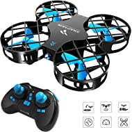 SNAPTAIN H823H Mini Drone for Kids, RC Nano Quadcopter w/Altitude Hold, Headless Mode, 3D Flips,...