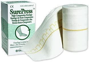 ConvaTec© SurePress High Compression Bandage - Sku SQB650947