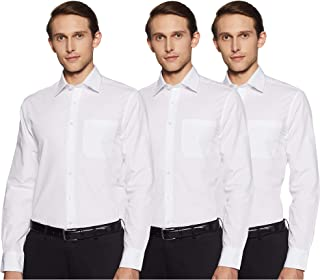 Marks & Spencer Men's Solid Regular fit Formal Shirt