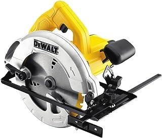 DeWalt DWE560K-LX 110V 184mm 65mm Compact Circular Saw in Kitbox , Yellow