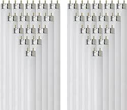 Sunlite F32T8/HL/SP850 32-watt T8 Linear Fluorescent Light Bulb with Bi Pin Base, 5000K, 30-Pack