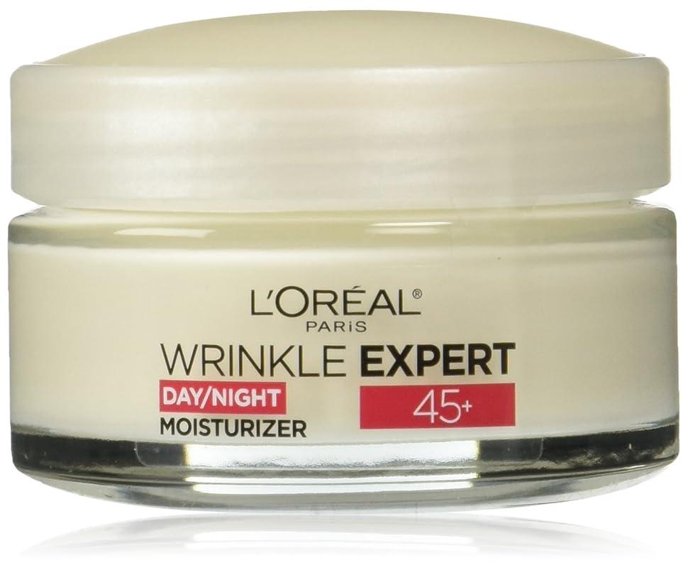貢献する下線ハロウィンLOREAL Paris Wrinkle Expert 45+ Day/Night Moisturizer - 1.7 oz(48g) ロレアル リンクルエキスパート45+