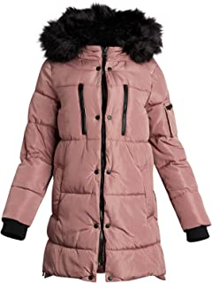 Best yellow puffer jacket with fur hood Reviews