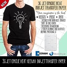 Inkjet Opaque Heat Transfer Paper - 3G Jet Opaque - 8.5