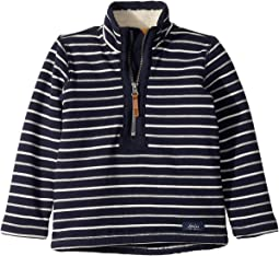 1/2 Zip Sweatshirt with Sherpa Trim (Toddler/Little Kids/Big Kids)