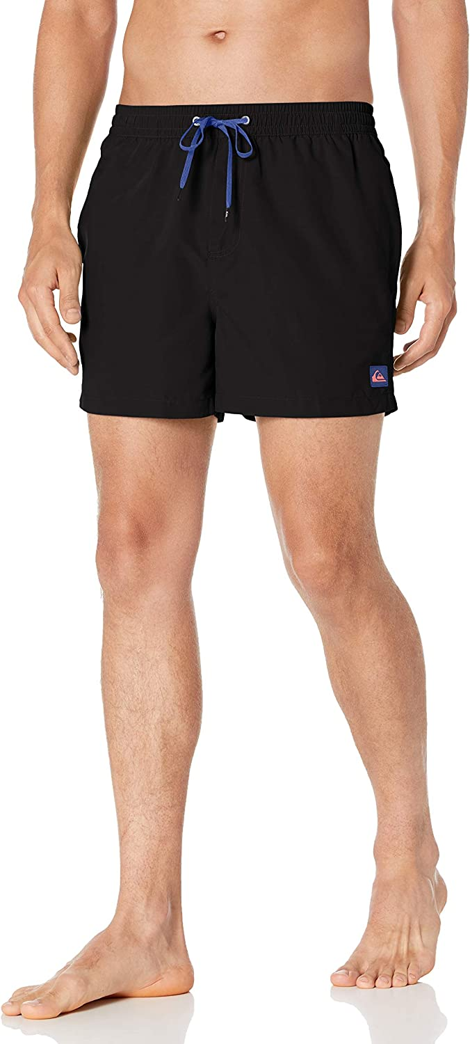 Quiksilver Men's Everyday Volley 15 Elastic Inch Inventory cleanup selling sale Special Campaign Boardshor Waist