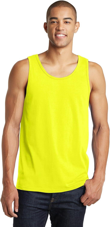 Clementine Tank (DT5300) Neon Yellow, 4XL