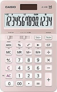 Casio JS-40B-PK Heavy Duty Calculator, 0.19 kilograms