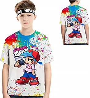 Made in USA Game Kid T-Shirt 3D Printing Children's Round...