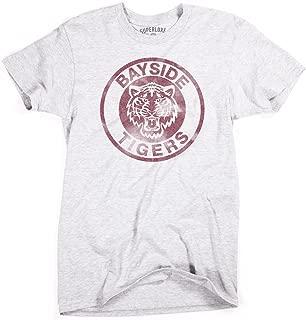 Mens Bayside Tigers Vintage Style Zack Morris Slater T-Shirt