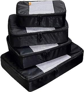 صناديق التعبئة من كولزون للسفر، حقيبة منظمة حقائب الأمتعة ومكعبات التعبئة