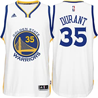 a2db69a2e adidas Kevin Durant Golden State Warriors White Youth Swingman Home Jersey