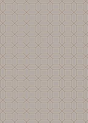 Surya LUCKA LCK-2002 Micro Looped Wool Geometric Area Rug, 5-Feet by