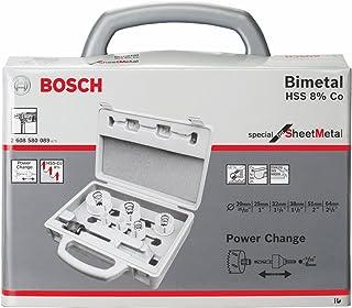 Bosch 2 608 580 089 - Set de 9 sierras de corona Sheet Metal - 20