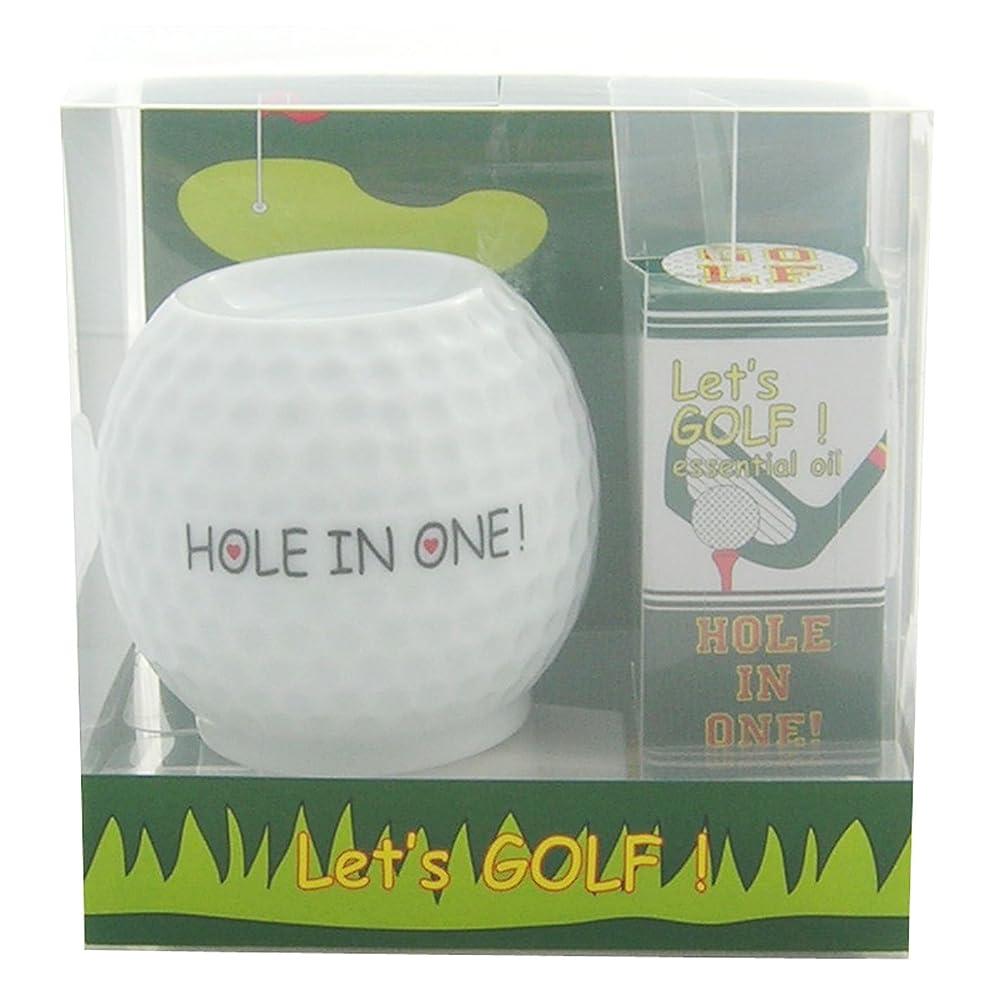 実際にウッズサイズフリート レッツ ゴルフ! アロマライトセット ホールインワン! 4ml