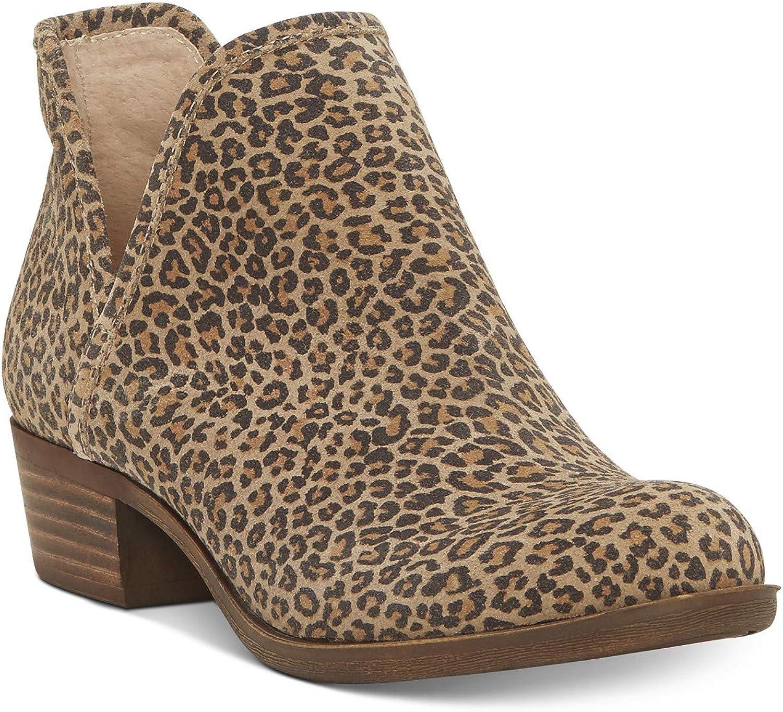 Lucky Brand Baley2 Ankle Boots, Eyelash Sophia Leopard