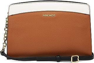 حقيبة طويلة تمر بالجسم للنساء من ناين ويست - كراميل