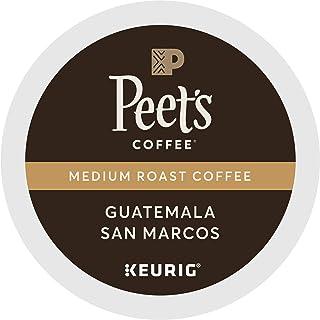 Peet's Coffee Guatemala San Marcos, Medium Roast, 32 Count Single Serve K-Cup Coffee Pods for Keurig Coffee Maker