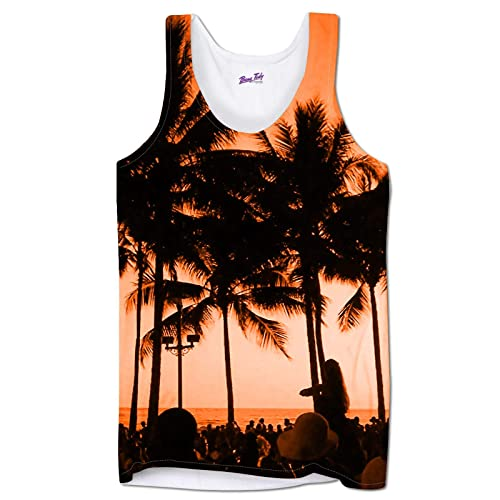 6d40848d75746 Holiday Vests for Men Beach Party Summer Clothing Tank Tops Gym Beach Wear