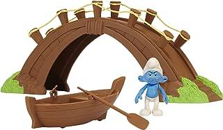 Smurfs Movie Theme/Adventure Gift Packs Wave #1 Smurf In Smurf Village Bridge Theme Set