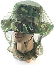 Jiamins Chapeau d/'apiculture et anti-moustique T/ête en maille filet Protection du visage Pour ext/érieur p/êche camping 5.32x 0.67 03 #