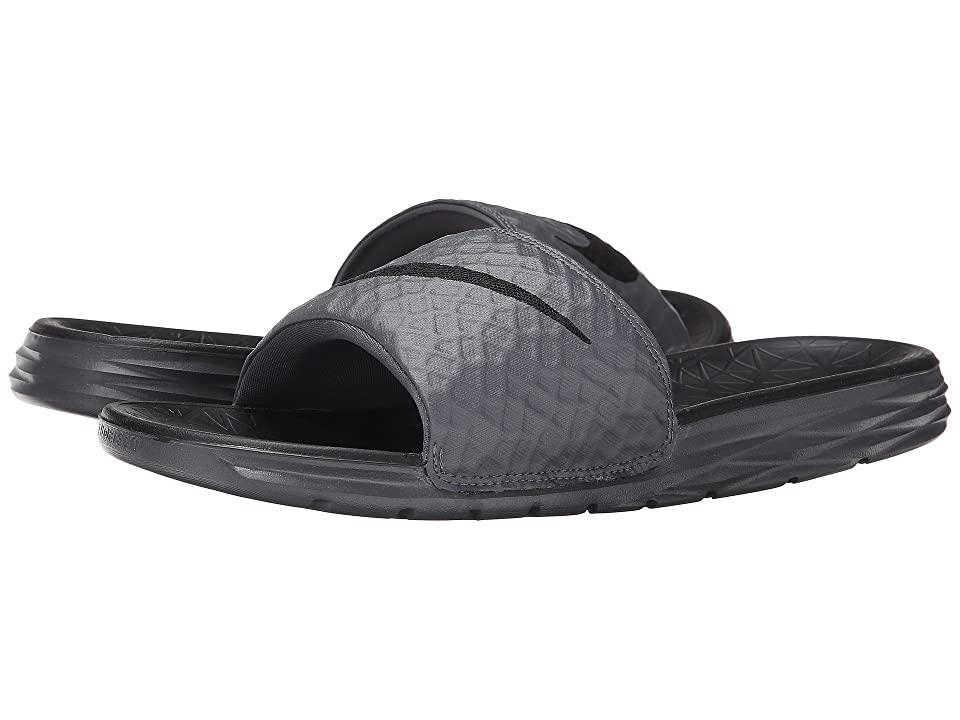 70b610ae8565 ... Size UPC 888408304100 product image for Nike - Benassi Solarsoft Slide 2  (Dark Grey Black