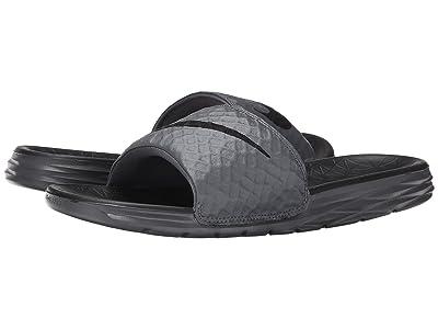 Nike Benassi Solarsoft Slide 2 (Dark Grey/Black) Men