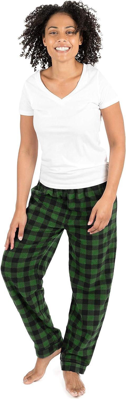 Leveret Women's Pajama Pants Fleece Lounge Sleep Pj Bottoms (Size XSmall-XLarge)