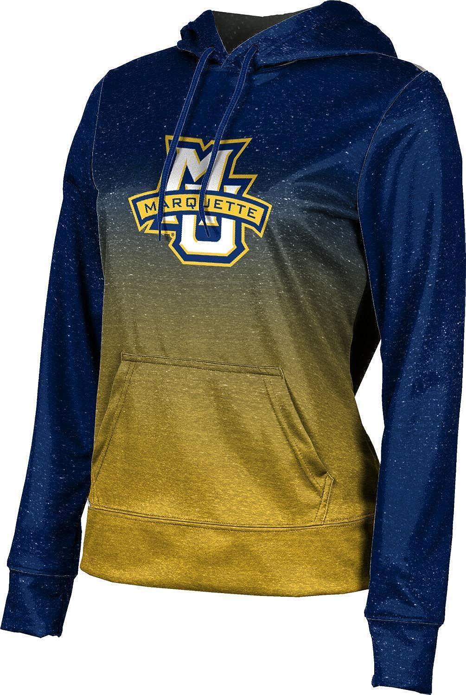 ProSphere Marquette University Girls' Pullover Hoodie, School Spirit Sweatshirt (Ombre)
