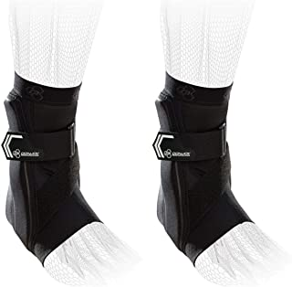 DonJoy Performance Bionic Ankle Braces (Right and Left Pair), 60° Stay w/Stirrup for Mild to Moderate Ankle Support, Prevent Ankle Sprains - Black, Large - Value Bundle