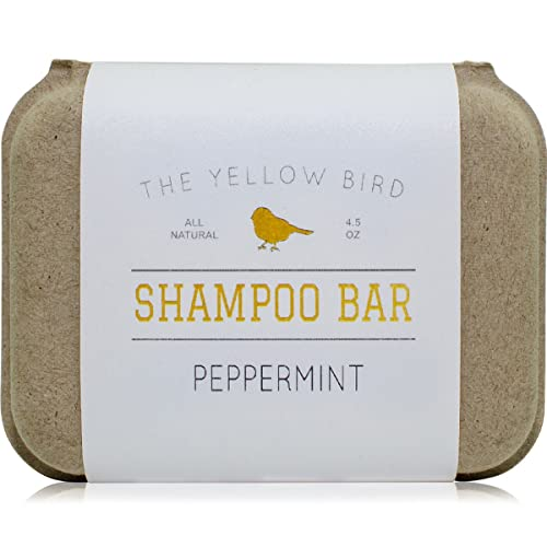 Peppermint Shampoo Bar Soap. Sulfate Free. Natural and Organic Ingredients. Anti Dandruff, Itchy Scalp, Psoriasis. Includes Conditioning Argan and Jojoba Oils.
