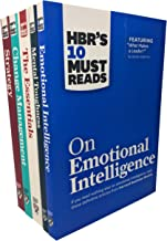 HBRs 10 Must Reads Leadership Collection 5 Books Set (On Emotional Intelligence, Mental Toughness, The Essentials, Change Management, Strategy)