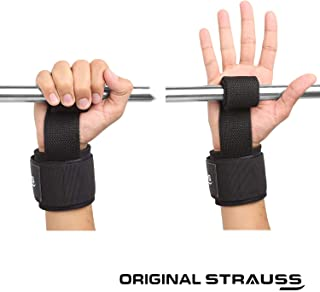Strauss Cotton Gym Support, Pair (Black)
