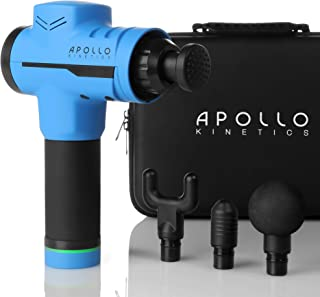 Apollo Kinetics Pulse Massage Gun Portable Electric Deep Tissue Percussion Muscle..