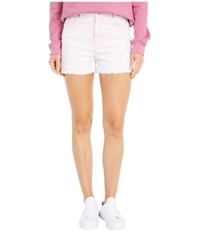 7 For All Mankind High-Waist Shorts with Fray Hem in Mineral Pink (Mineral Pink) Women