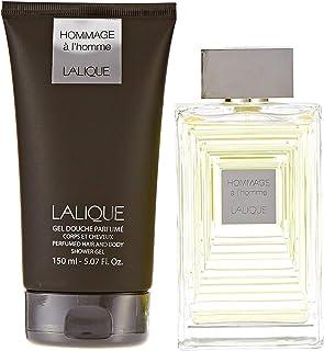 Lalique Hommage for Men Eau de Toilette 100ml + 150ml Hair & Body Sg Set