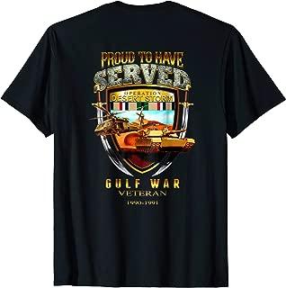 Desert Storm Gulf War Veteran 1990-1991 Tshirt