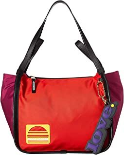 Sport Color Blocked Tote