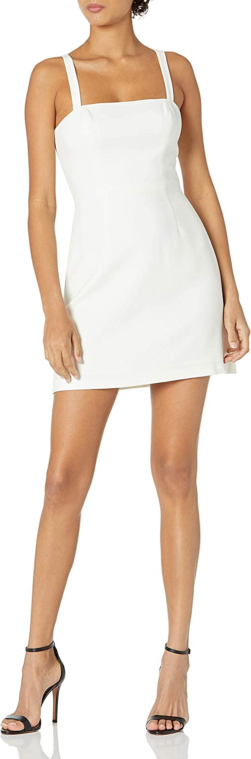 French Connection Women's Whisper Straight Neck Dress