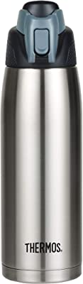 Thermos Stainless Steel Vacuum Insulated Water Bottle, 710ml, Stainless Steel, HS4080S4AUS