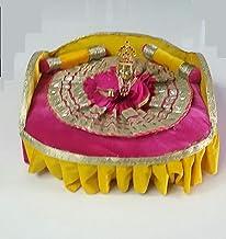 "Style OK Lord Laddu Gopal Kanha Brass Metal Handmade Laddu Gopal Medium Size 2.9"" hieght with DHL Shipping 3-4 Days delive..."