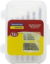 Tramontina 43141513, Jogo de Brocas para Aço 13 Peças